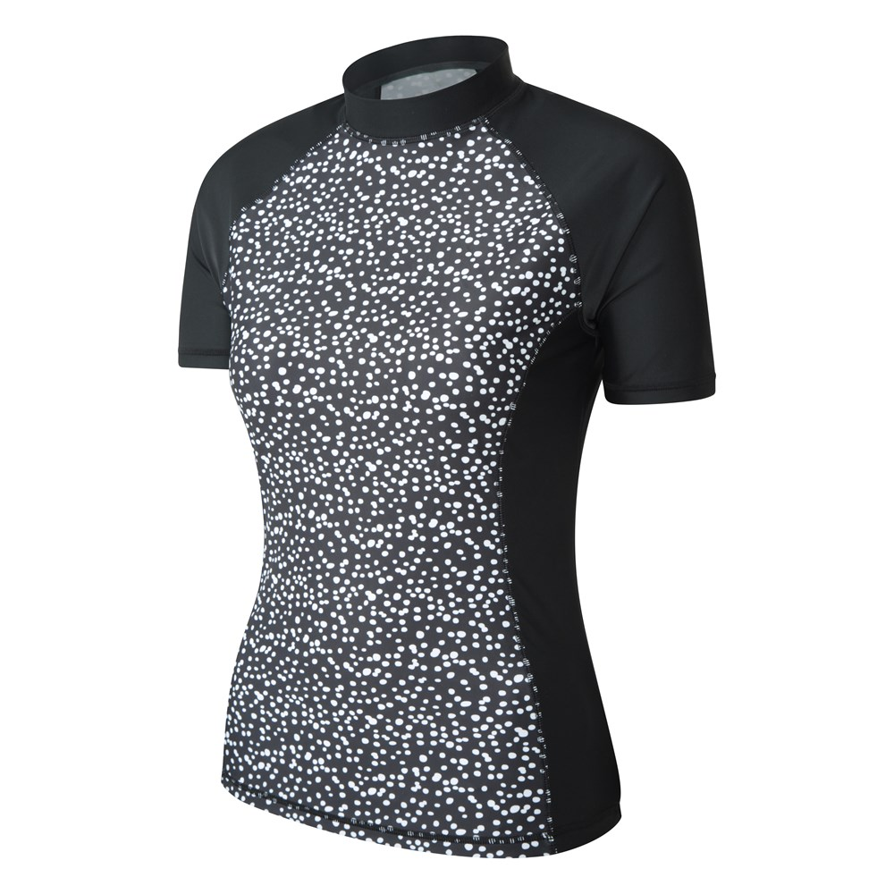 Mountain Warehouse Womens Rash Vest Upf 50 with Quick Drying Soft and Stretchy