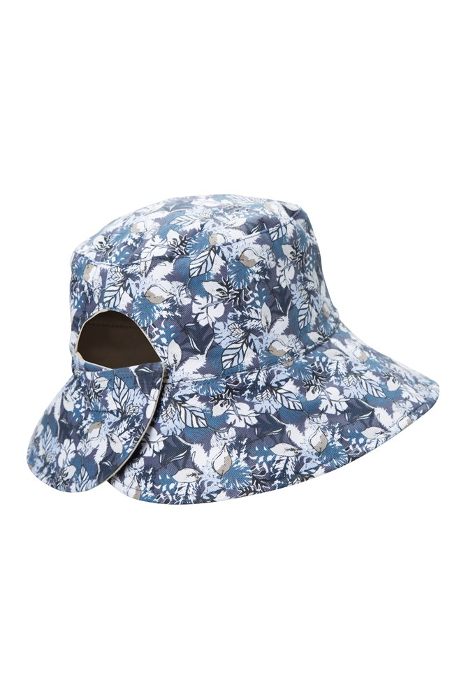 Reversible Womens Printed Bucket Hat  c20329a993