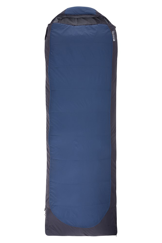 Microlite 500 Square Sleeping Bag - Blue