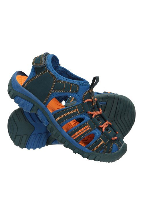 Durable Kids Summer Shoes Mountain Warehouse Pebble Junior Sandals