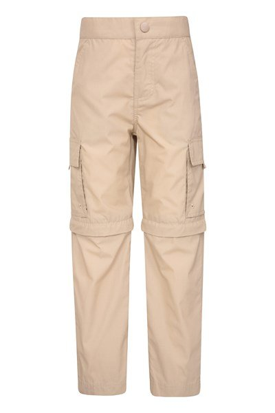 Active Kids Convertible Trousers - Beige