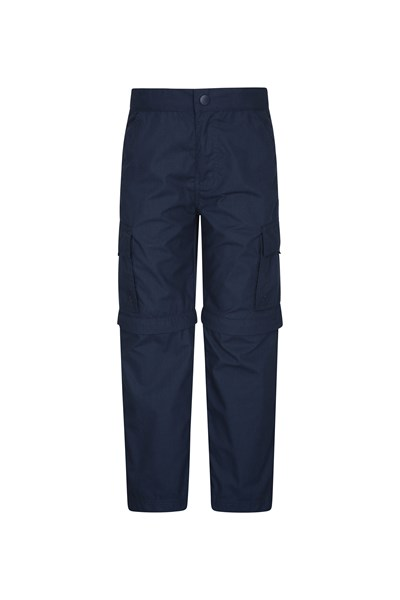 Active Kids Convertible Trousers - Navy