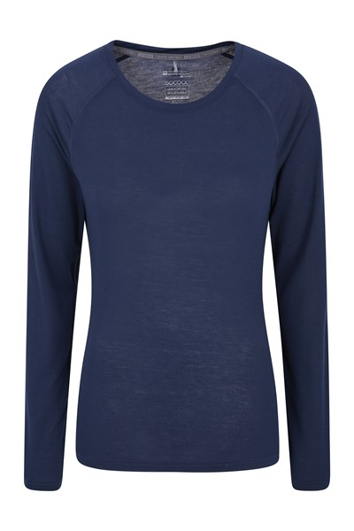 IsoCool Dynamic Womens Top - Navy