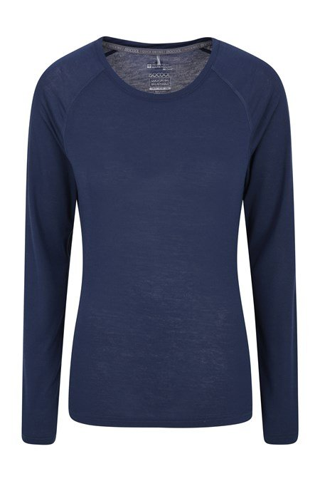 024223 QUICK DRY WOMENS LS TEE