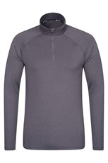 Agra Mens Half-Zip Top