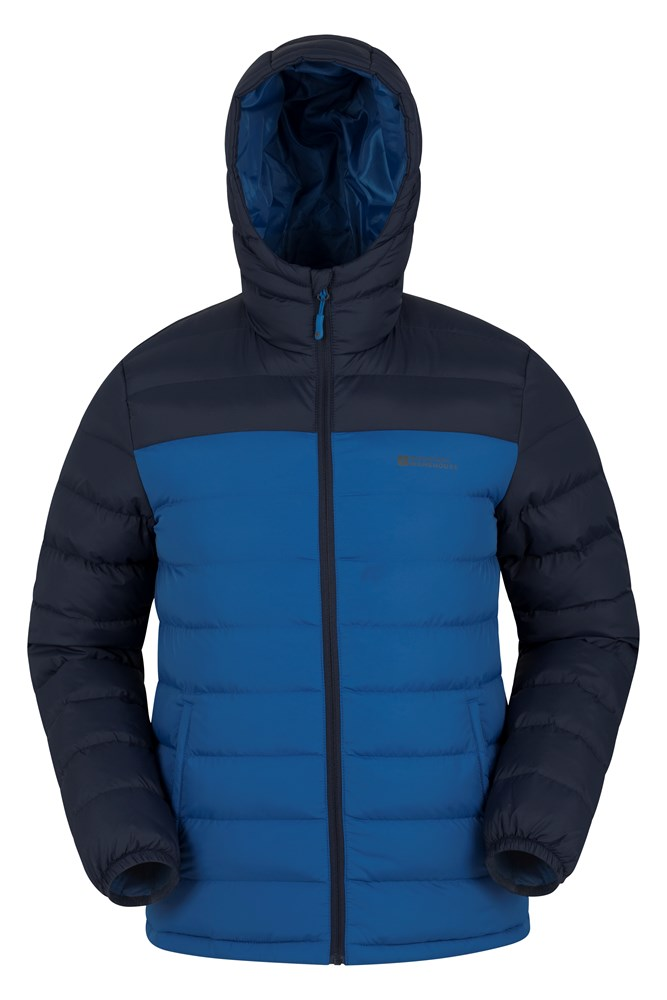 Seasons Mens Padded Jacket - Blue