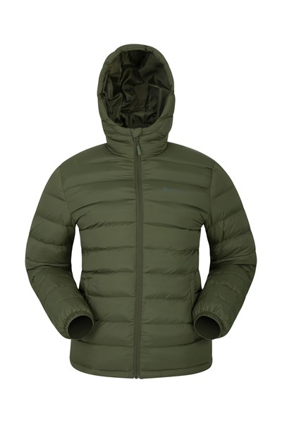 Seasons Mens Padded Jacket - Green
