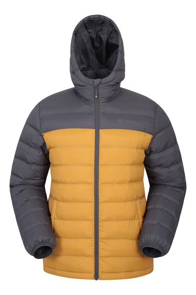Seasons Mens Padded Jacket - Yellow