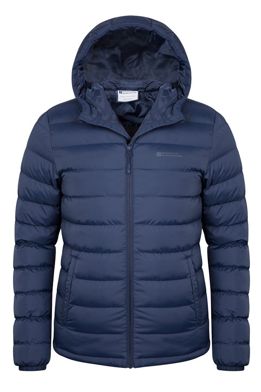 Seasons Mens Padded Jacket | Mountain Warehouse US : mens quilted hooded jacket - Adamdwight.com