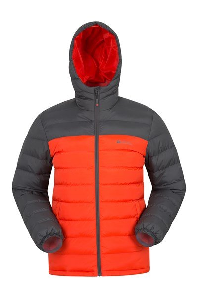 Seasons Mens Padded Jacket - Orange