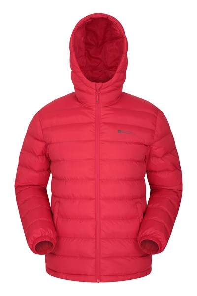 Seasons Mens Padded Jacket - Red