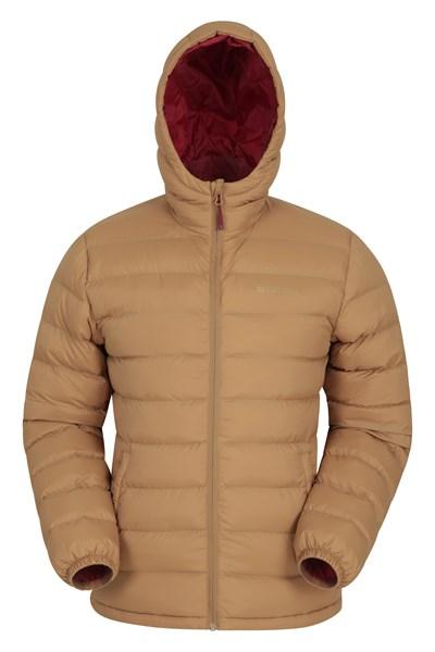 Seasons Mens Padded Jacket - Orange