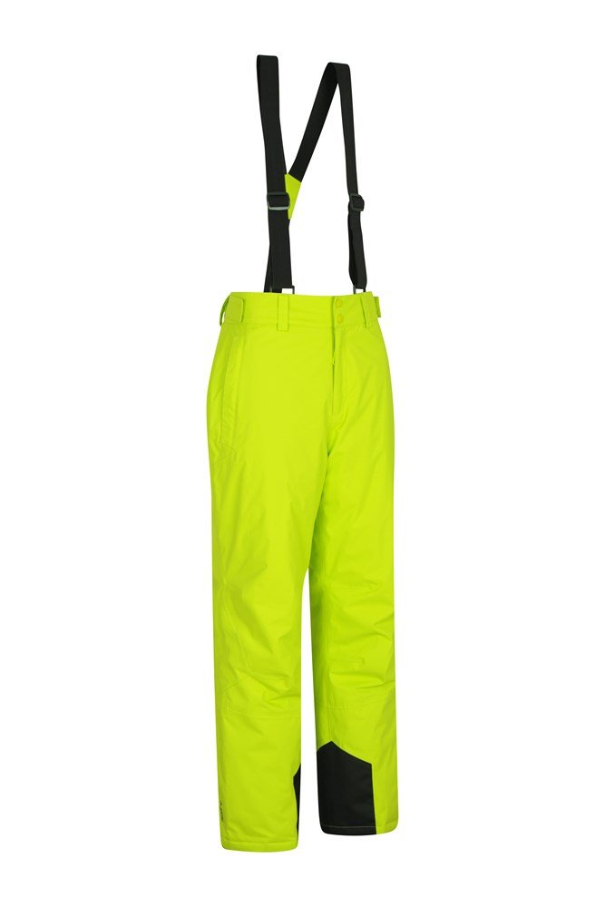 Mountain Warehouse Gravity Mens Ski Pants -Breathable Winter Trousers