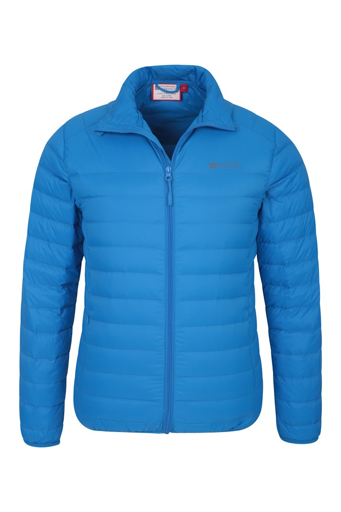 Mountain Warehouse Mens Lightweight Down Jacket 90/% Down 10/% Feather Filling