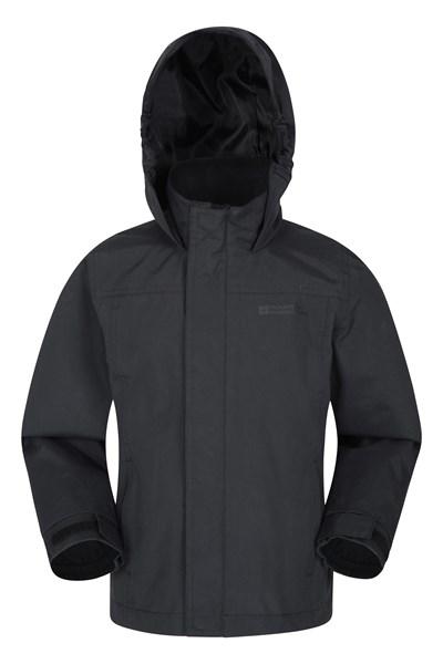 Orbit Kids Waterproof Jacket - Black