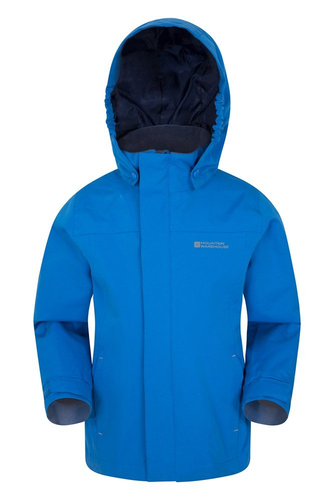 Orbit Kids Waterproof Jacket - Blue