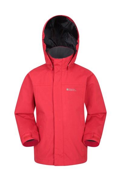 Orbit Kids Waterproof Jacket - Red
