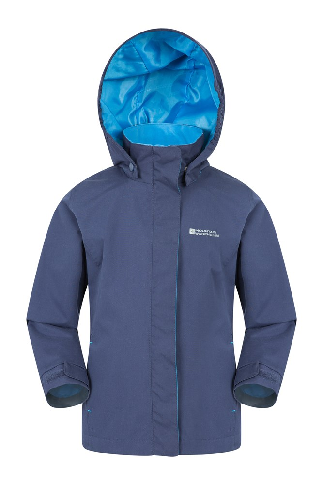 Orbit Kids Waterproof Jacket - Navy