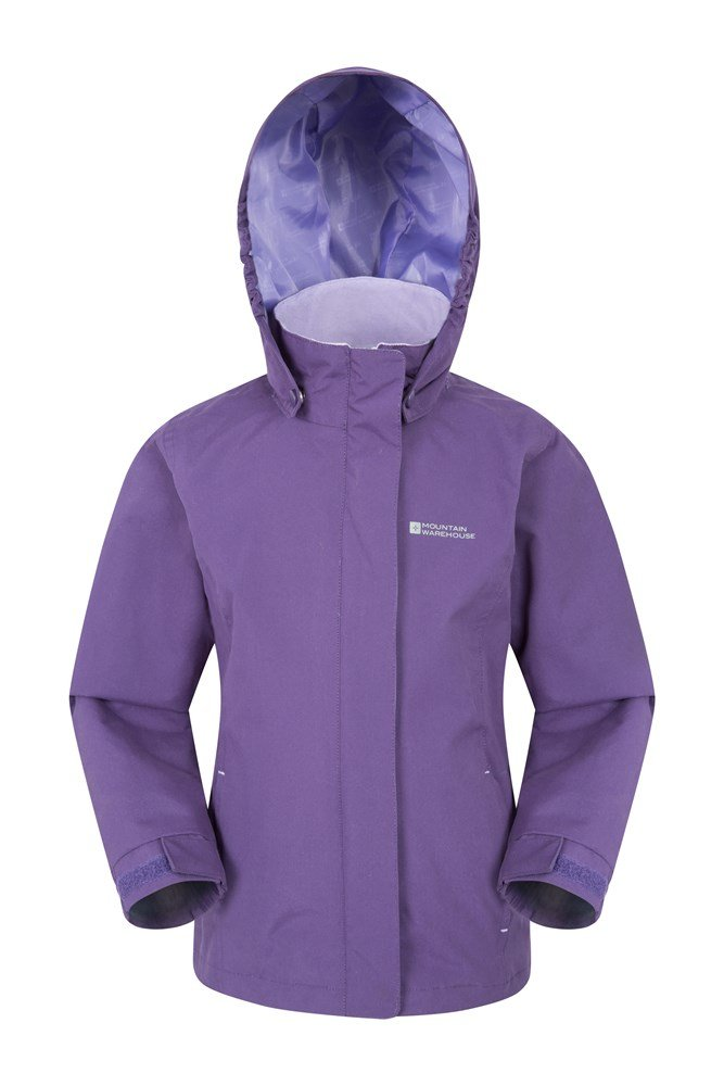 Orbit Kids Waterproof Jacket - Purple