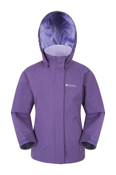Orbit Kids Waterproof Jacket - Purple