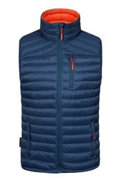 Henry Down Padded Mens Gilet