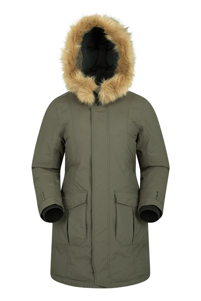 Aurora Womens Down Jacket - Green