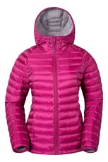 Horizen Womens Hydrophobic Down Jacket