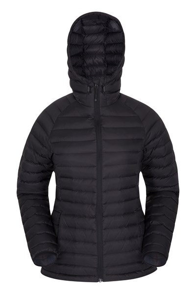Horizon Womens Down Jacket - Black