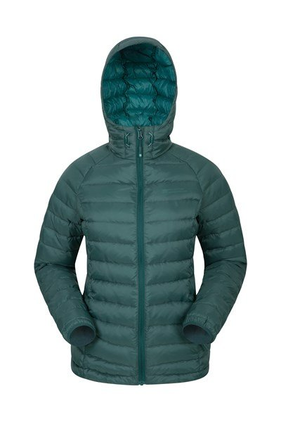 Horizon Womens Down Jacket - Green