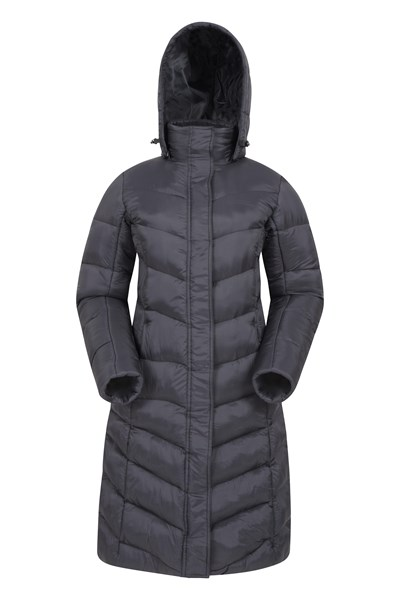 Alexa Womens Padded Jacket - Black
