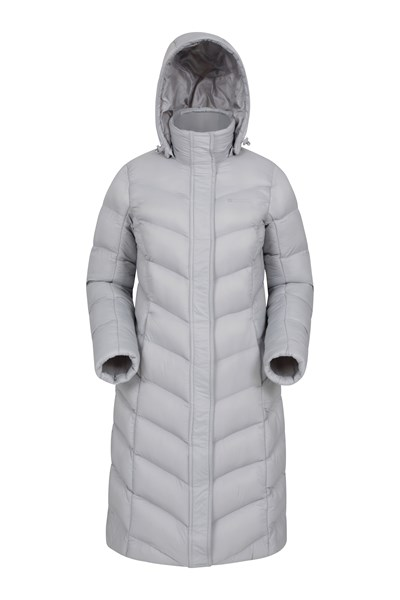 Alexa Womens Padded Jacket - Grey