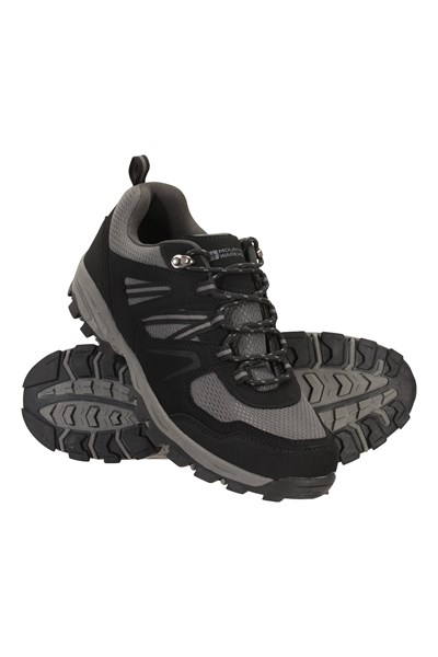 Mcleod Wide Fit Mens Shoes - Charcoal