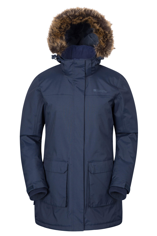 Canyon Womens Long Jacket | Mountain Warehouse GB