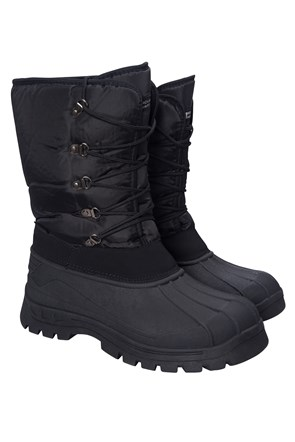 Plough Mens Snow Boots