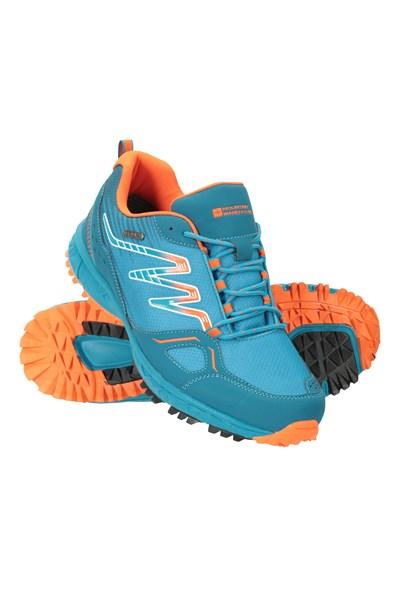 Enhance Waterproof Trail Mens Running Sneakers - Blue