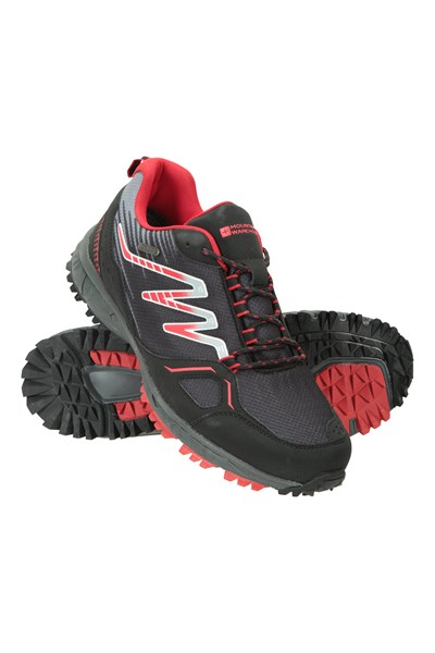 Enhance Waterproof Trail Mens Running Sneakers - Grey