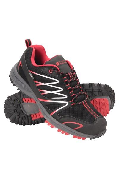 Enhance Waterproof Trail Mens Running Sneakers - Charcoal