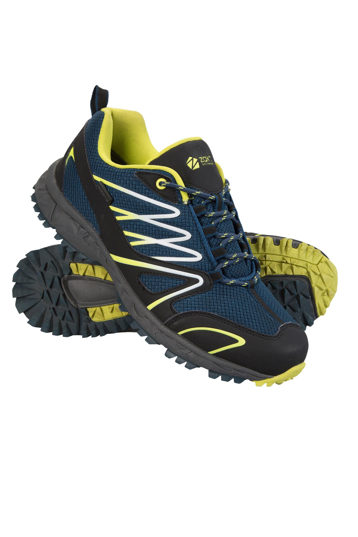 Enhance Waterproof Trail Mens Running Sneakers - Dark Grey