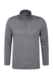 Wanderer Long Sleeve Half-Zip Mens Top