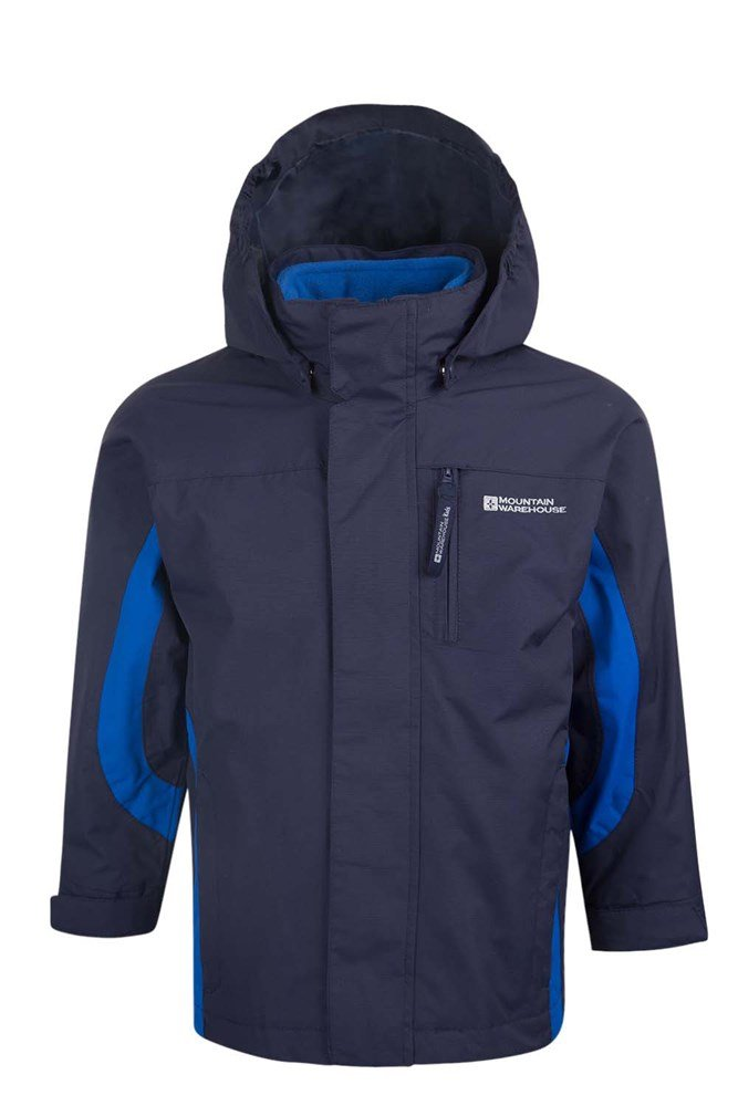Cannonball Youth 3 In 1 Waterproof Jacket - Navy