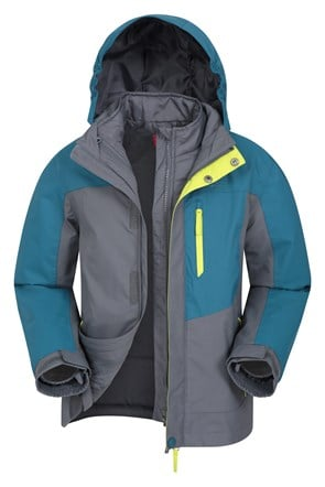 Compass Wasserdichte 3-in-1 Kinderjacke