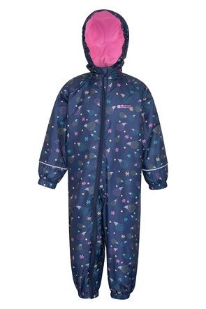 Spright Printed Junior Waterproof Rain Suit