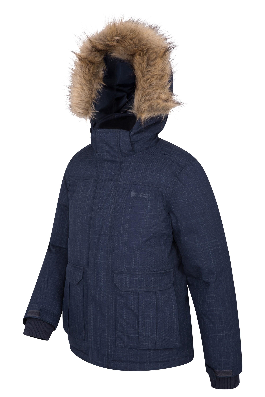 Kids Winter Jacket Mountain Warehouse Antarctic Youth Down Jacket