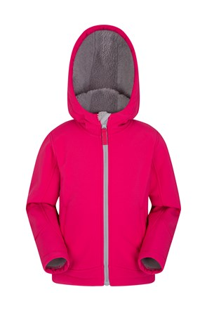 Arctic Youth Sherpa Lined Softshell Jacket