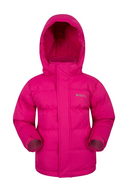 024390 SNOW KIDS WATER RESISTANT PADDED JACKET