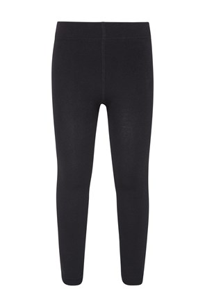 Kinder Fleece-Leggings