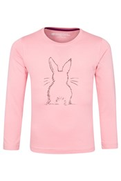 Bunny Long Sleeved Kids Tee