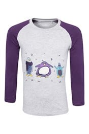 Penguin Long Sleeved Kids Tee