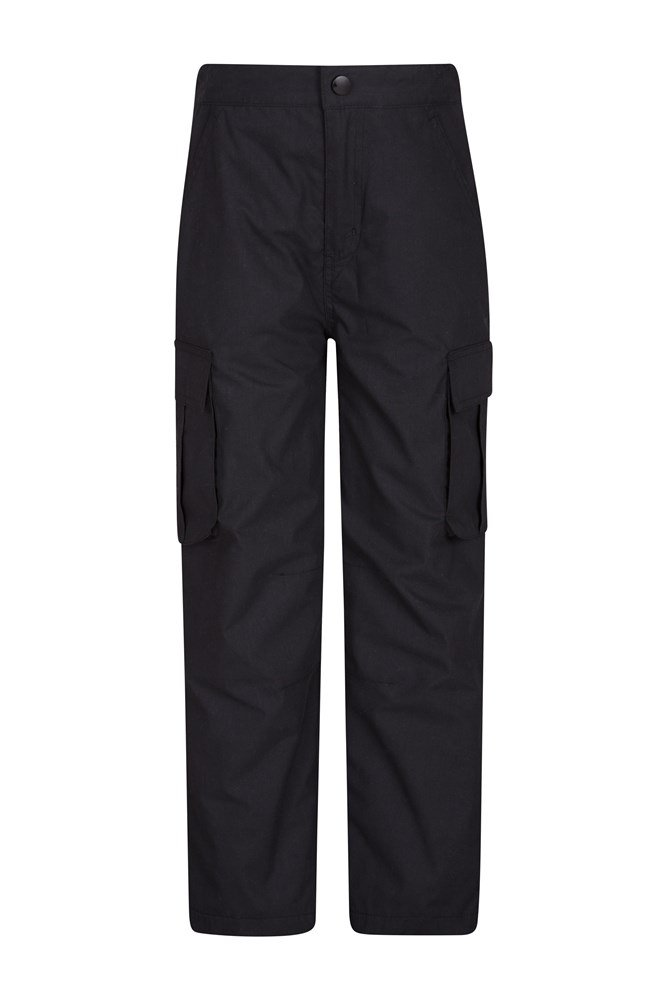 Youth Winter Trek Trousers - Black