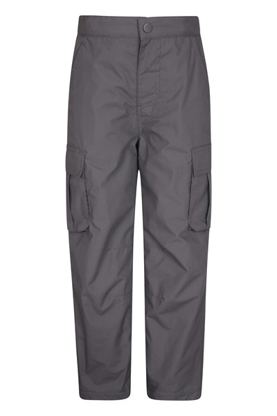 Youth Winter Trek Trousers - Grey